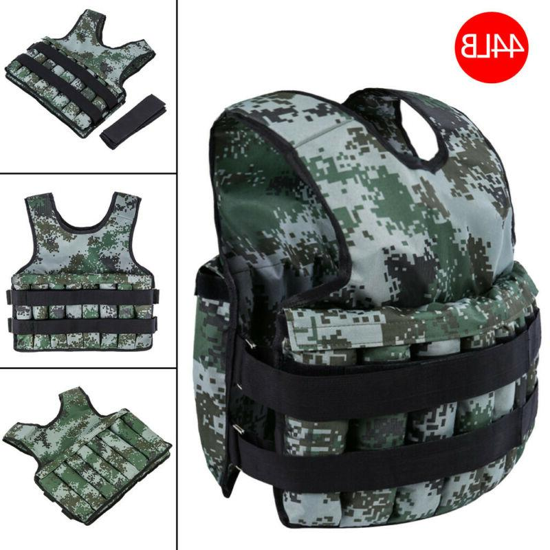 exercise weight vest weighted adjustable fitness training