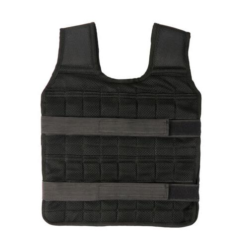 Adjustable Vest 22lb-132lb Weight Fitness Training