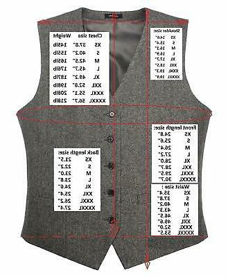 Ruth&Boaz 2Pockets Herringbone Vest