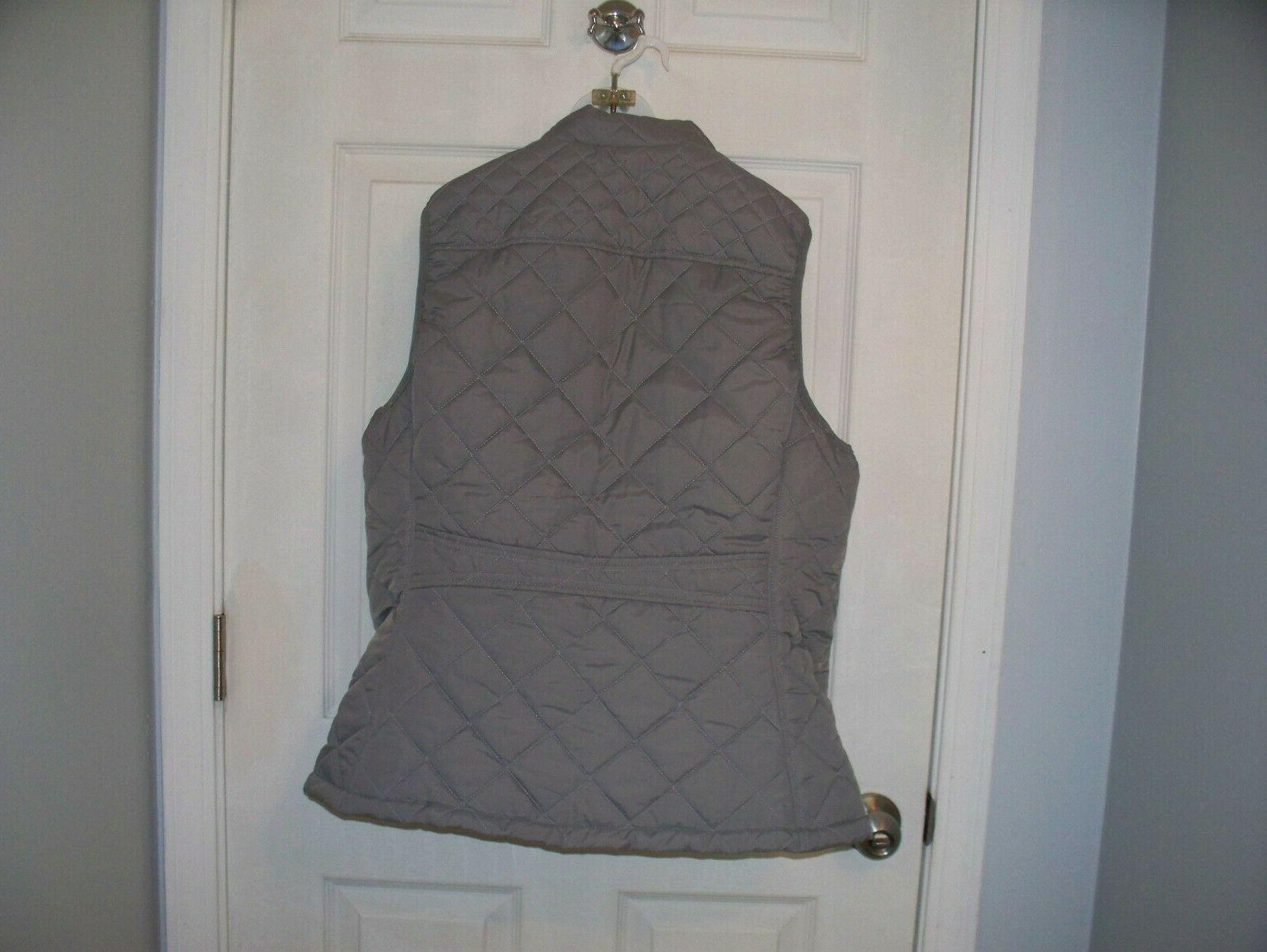 Allegra Woman Quilted Padded Vest XL New!!!