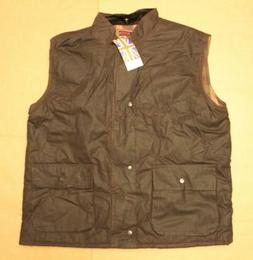 High Mount Outdoor Clothing Men's Lined Pocket Vest SC4 Brow