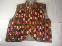 vest Hand Made Embroidered men and women clothing nice gift